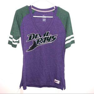 🌷5/$20 Nike Devil Rays Women's Purple Top